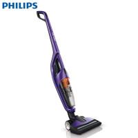 飞利浦(PHILIPS)吸尘器 FC6166 立式手持式(二合一)家用充电式小型无线吸尘机除尘静音无尘袋 紫色
