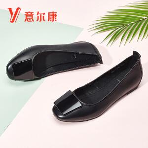 意尔康女鞋2018新款女士单鞋8171DA26739W