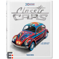 20th Century Classic Cars 20 世纪经典汽车海报 绘画 艺术画册 画集 漫画 连环画 水彩 古典 油画 艺术绘画作品 油画书