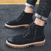 马丁靴男靴子高帮雪地男鞋冬季加绒棉靴短靴潮工装靴英伦百搭