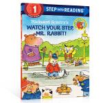 【顺丰包邮】英文原版Watch Your Step Mr. Rabbit! 注意脚下,兔子先生 Richard Sca