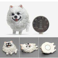 狗狗冰箱贴 磁铁磁贴 创意吸铁石 家居装饰贴 小