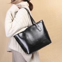 新款2020简约托特包手提包女士包包时尚大容量欧版女包大包单肩包