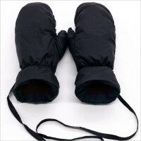 骑行男士羽绒手套女冬季保暖加厚加绒滑雪手套