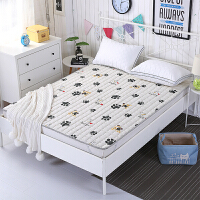 ???夏天儿童床褥子1.2X1.9长1.3m床1.5X2米纯棉薄款床垫子可水洗1宽