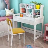 实木儿童学习桌写字桌小户型升降桌椅套装书桌简约家用学生作业桌