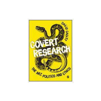 【预订】Covert Research 9781849203838 美国库房发货,通常付款后3-5周到货!