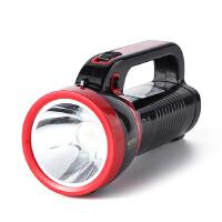 康铭LED探照灯强光远射程手电筒户外露营照明高亮家用应急灯充电式手提灯 KM-2631