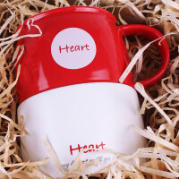 创意个性可爱陶瓷杯子水杯情侣马克杯咖啡牛奶活
