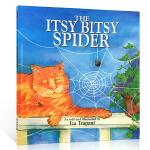 【发顺丰】英文原版The Itsy Bitsy Spider 廖彩杏推荐 入门儿歌童谣绘本