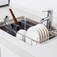 【领券】ORZ 三层可调竹节管微波炉烤箱置物架子 厨房金属调味收纳层架书架