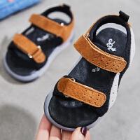 夏季新款儿童凉鞋男孩女孩软底沙滩鞋子男童宝宝鞋子潮