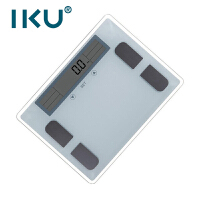 IKU 智能电子体重秤 家用家用健身器材电子称 瑜伽配件 精准人体体重电池电子电子秤BD811