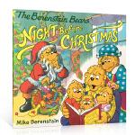 【顺丰包邮】英文原版 Berenstain Bears' Night Before Christmas 贝贝熊的圣诞平