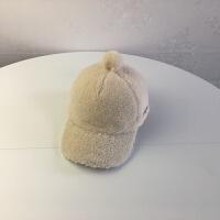 新款6儿童帽子3-7岁男童棒球帽秋冬季5女童4宝宝保暖帽休闲韩版潮 均码