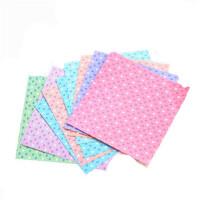得力6434彩色手工纸 儿童折纸 心形印花折纸 学生手工剪纸 30张