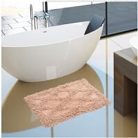 雪尼尔地垫门垫厨房地毯卫生间浴室脚垫厚吸水防滑垫