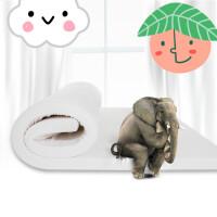 乳胶床垫1.5m1.8m床天然乳胶垫子 双人单人乳胶垫5cm