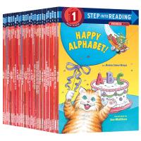 美国企鹅兰登经典分级读物一阶段30册 兰登英语分级阅读绘本 Step into Reading 1 英文原版绘本 英文
