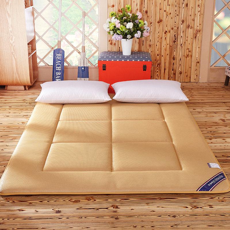 加厚海绵软床垫单双人1.5/1.8M学生宿舍塌塌米可折叠床褥地铺地垫 一般在付款后3-90天左右发货,具体发货时间请以与客服协商的时间为准