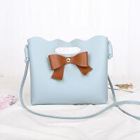 新款时尚蝴蝶结小包包迷你包包单肩斜跨包