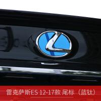 雷克萨斯ES后车标贴 专用雷克萨斯ES车标贴片不锈钢亮面