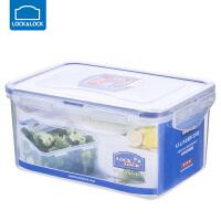乐扣乐扣保鲜盒塑料微波炉饭盒密封盒便携便当盒水果盒 长方形【1100ml】