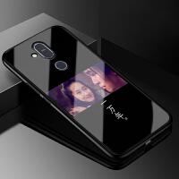 诺基亚x7手机壳新款玻璃TA-1131防摔全包时尚保护套2018版软硅胶nokiax7个性创意男女情