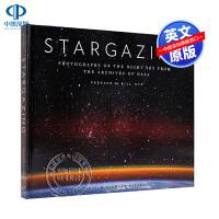 英文原版 targazing 仰望星空 NASA档案馆典藏夜空照片 精装 宇宙太空摄影艺术书 摄影爱好者读物