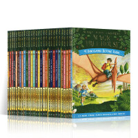 神奇树屋英文原版 The Magic Tree House 1-28 Boxset 神奇树屋1-28册盒装 6-9-12岁青少年儿童英语文学章节桥梁小说书籍小学生课外阅读物故事书