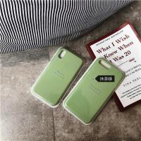 ins超火抹茶绿液态硅胶oppor15手机壳r11s冷淡风女r11plus软壳r17 R11 抹茶绿液态硅胶