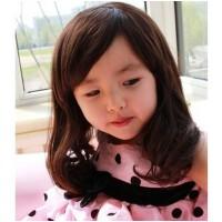大孩子自然假发 时尚儿童假发 儿童摄影假发 表演假发 宝宝假发