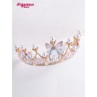 女童公主王冠花童彩色头箍女孩发箍发夹发卡儿童皇冠头饰发饰