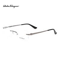 Ferragamo/菲拉格慕专柜正品无框商务男款眼镜框SF2125B