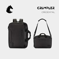 CRUMPLER澳洲小野人CREDENTIAL商务旅行双肩背包公文包手提电脑包
