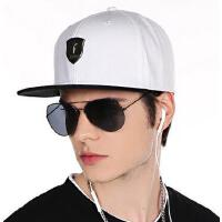拼色潮流百搭平沿帽子女士防晒帽嘻哈帽遮阳帽男女韩版男士棒球帽