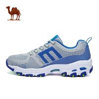 骆驼牌运动鞋女 登山鞋户外情侣跑步鞋透气减震熊猫鞋越野徒步鞋女