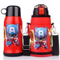 迪士尼儿童保温杯宝宝小孩带吸管水壶幼儿园小学生不锈钢防摔水杯