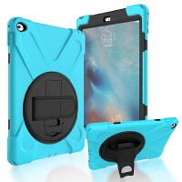 iPad Air2防摔硅胶套iPad6保护套A1566 A1567支撑外壳9.7英寸皮套