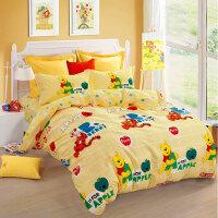 纯棉卡通四件套 全棉男孩女童三件套1.2m儿童床上用品上新