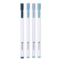 得力 A025 中性笔 0.5mm 签字笔 12支装 水笔碳素笔 黑色