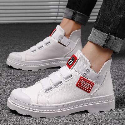 冬季男士马丁靴男鞋社会短靴棉鞋高帮板鞋秋季中帮百搭靴子男