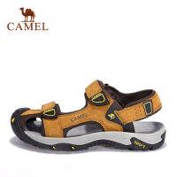 camel 骆驼户外沙滩鞋 休闲时尚耐磨凉鞋 春夏男款沙滩鞋