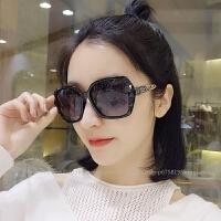 2018新款墨镜女韩版潮太阳镜偏光网红眼镜明星复古范冰冰同款