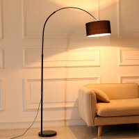 ?钓鱼灯落地灯led遥控北欧创意简约客厅书房卧室床头护眼立式台灯