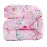 ???被子冬被棉被冬被芯加厚冬被春秋被厚棉被保暖冬被子�p人10斤8斤 玫�t色 玫瑰�廴�-粉色