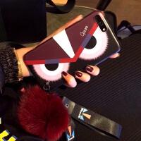 秋冬款苹果x手机壳iPhone xs max韩风xs毛绒奢华女款8plus网红款7plus创意个 苹果xs max 小
