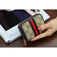 韩版时尚小钱包女短款韩版迷你帆布卡包卡套复古简约零钱包