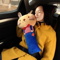 抱枕 创意儿童汽车带套护肩套毛绒女士可爱汽车