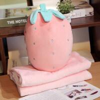 抱枕被子两用多功能个性可爱汽车办公室枕头毯子暖手插手午睡靠垫 抱枕40厘米 毯子1x1.7米